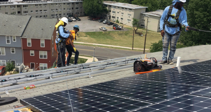 Bridging the skills gap, one solar panel at a time