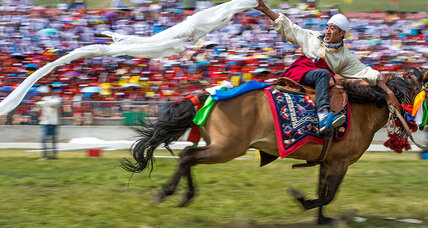 An iconic Tibetan horse festival – with politics in the wings
