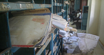 In Juba's only post office, ghosts of a young country's hopes for 'normal'
