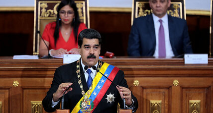 Venezuela: Do US sanctions seek regime change? Maybe not in the short term ...