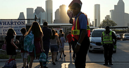 Post-Katrina lessons for Harvey's returning students