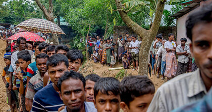 Why plight of Rohingya Muslims has suddenly captivated the Arab world