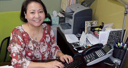 One woman who's easing the language barrier for immigrants