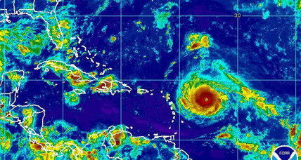 Hurricane Irma builds to Category 5 storm on path to Caribbean