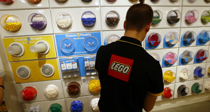 Lego rebuilds its business model amid falling sales