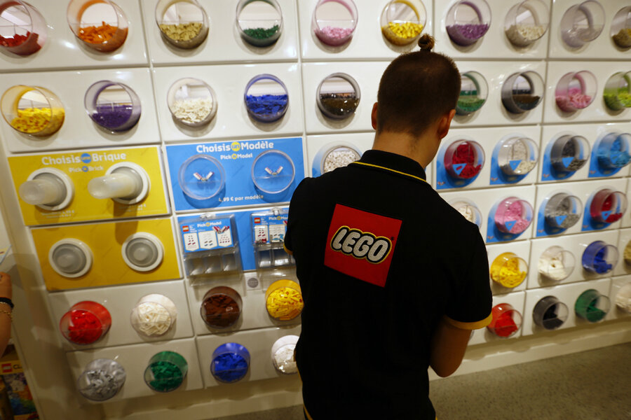 Lego rebuilds its business model amid falling sales - CSMonitor.com