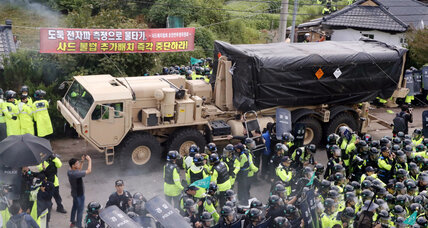 South Koreans turn out to protest US efforts to strengthen THAAD defense system