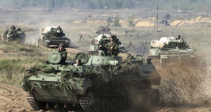 Russian war games in Belarus raise international concerns of possible invasion