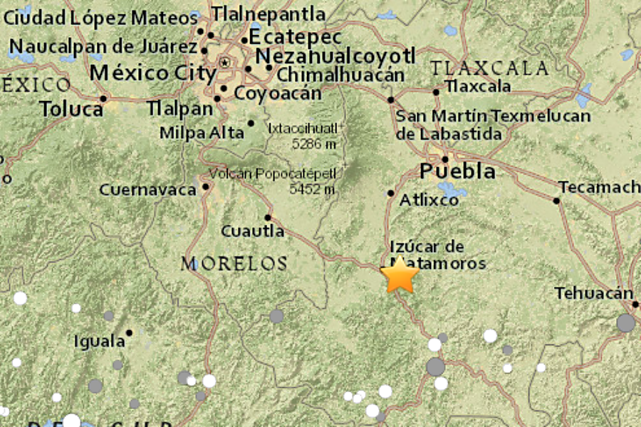 Mexico city rocked by major earthquake csmonitor the epicenter of a magnitude 71 earthquake was located 75 miles southeast of mexico city near raboso mexico gumiabroncs Choice Image