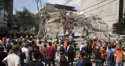 Volunteer efforts strengthen after devastating Mexico City earthquake