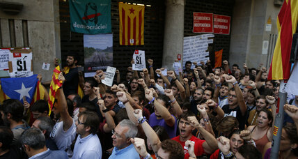 Spain arrests Catalan officials as tensions over 'illegal' referendum rise