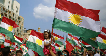 Kurds head to the polls Monday for independence vote