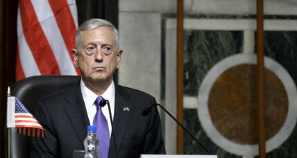 Secretary Mattis looks to strengthen military partnership with India