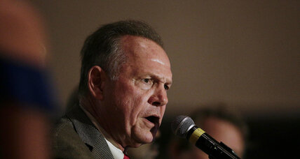 In Republican primary, Moore wins in Alabama against establishment-backed Senator Strange