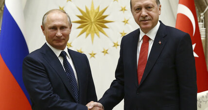 Russia and Turkey come together as unlikely allies in the Syrian war