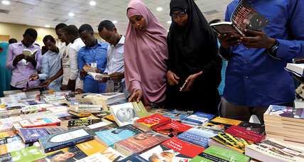 Meanwhile... book-loving Somalis defy the threats of terrorists