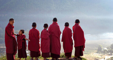 Meanwhile... in Bhutan, the government is opening the door wider to foreign tourism