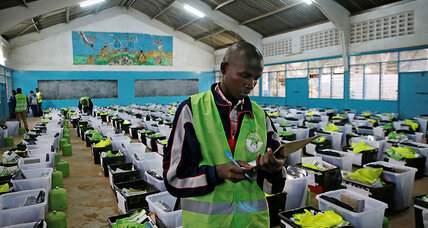 On the eve of reelection day, Kenya's courts thrust into limelight
