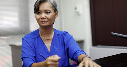 Amid Cambodia crackdown, this leader fled. But she hasn't given up on change