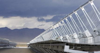 Las Vegas shines as a model for solar power