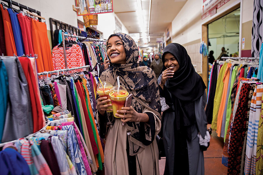 Meanwhile    political and economic gains of Minneapolis's Somali