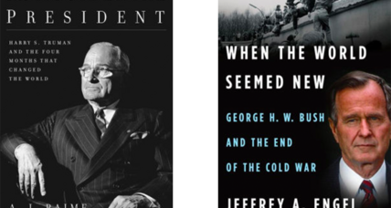 Bumper crop of new US presidents biographies reflects the challenges they all faced