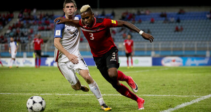 Soccer stunner: Trinidad and Tobago knocks out US in World Cup qualifier