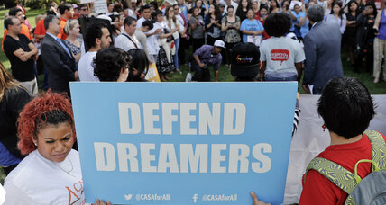 Majority of Americans support Dreamers staying in the US, poll says