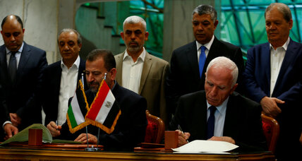 A step toward unity: Gaza governing deal reached by rivals Hamas and Fatah