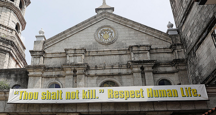 As drug war's toll grows in the Philippines, so does church's pushback