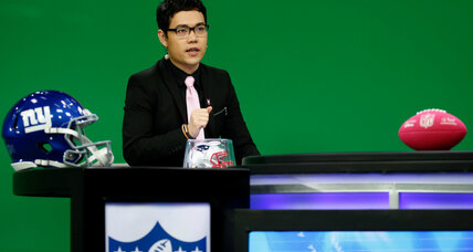 Chinese commentators tackle the challenge of translating American football