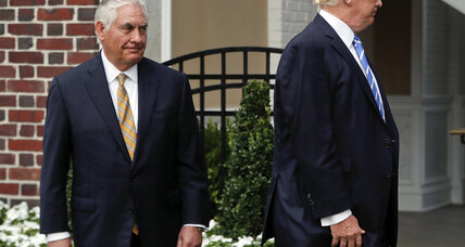 Why Rex Tillerson hasn't quit; What Palestinian unity will, and won't, achieve; Thaler's 'nudge' worthy of the Nobel nod; The woman in the controve...