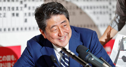 Abe win points to continued pressure on N. Korea – and Japan's pacifist Constitution