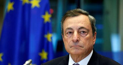 European Central Bank cautiously emerges from the shadow of its financial crisis