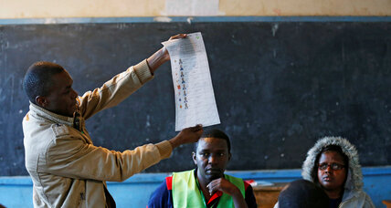 Kenyatta's win in Kenya hampered by low election turnout