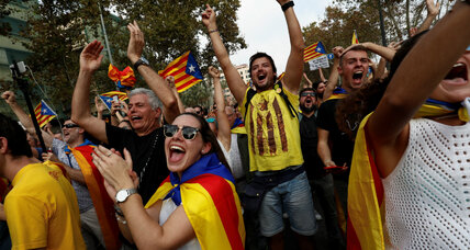 Spain dissolves Catalonia's government