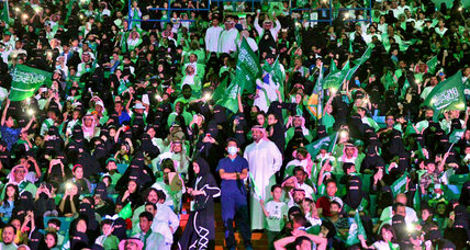 Another first for Saudi women: legal attendance at sports matches