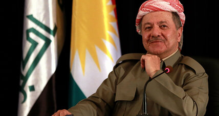 Kurdish leader resigns amid tensions over independence vote