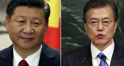 South Korea and China work to mend strained relations