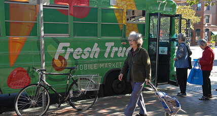 Oasis on wheels: mobile markets bring fresh produce into food deserts