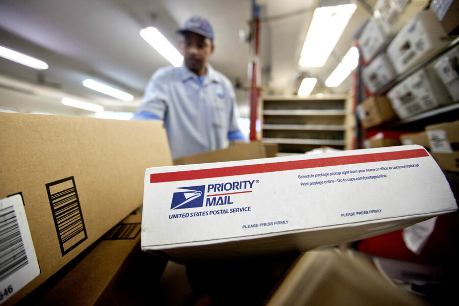 Postal Service Considers Sunday Delivery For Holiday Season - Us postal service transit map