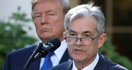 Trump taps Jerome Powell for Federal Reserve chair