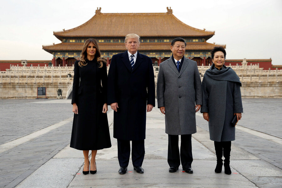 ¿Cuánto mide Donald Trump? - Estatura real y peso - Real height and weight 1050435_1_1108-Trump-China-Visit_standard