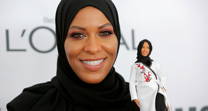 Barbie now wears a hijab, inspired by US Olympic fencer