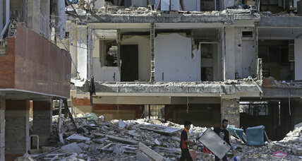 Iran-Iraq earthquake topples state-constructed buildings