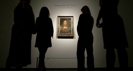 Da Vinci's 'Salvator Mundi' sells for $450 million