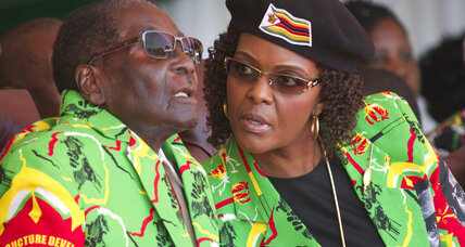 Grace Mugabe: Zimbabwe's first lady and her play for the presidency