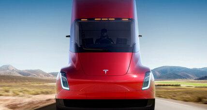 Tesla's next goal: electric semi-trucks