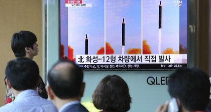 South Korea fears continued weapons development from North Korea