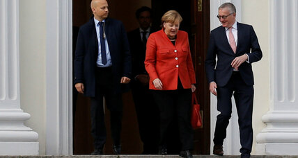 After German coalition talks fail, Merkel looks for a way forward